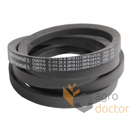 Classic V-belt 0006033370 Claas [Continental Conti-V]