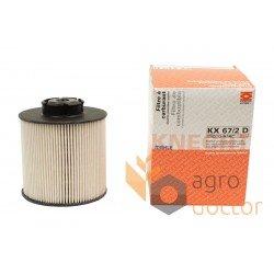 Fuel filter 67/2 D OEKO KX [Knecht]