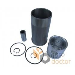 Piston set 3218461R95 Case-IH, 3 rings, [Bepco]