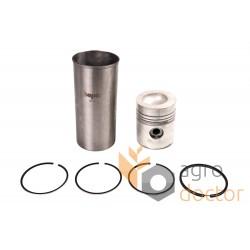 Piston kit for U5MK0067 Perkins engine (4-rings)