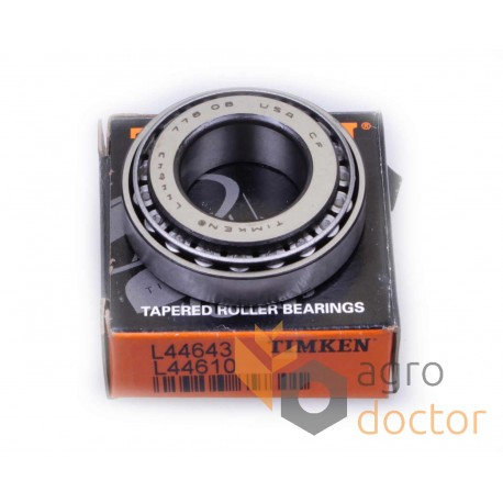 Timken L44610 Tapered Roller Bearing Cup New