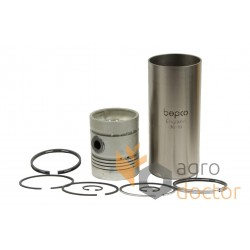 Piston kit set U5MK0040 Perkins, (5 rings), [Bepco]