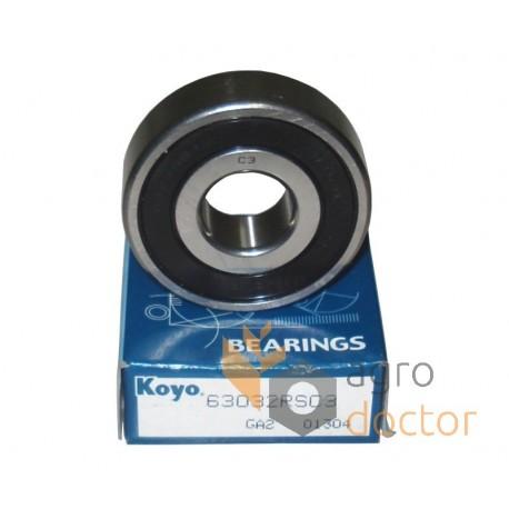 6303-2RS//C3 Deep Groove Ball Bearing 17x47x14 mm.