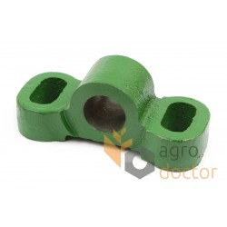 Knife bellcrank flange for John Deere harvester header, H98780