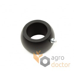 Teflon bushing d30mm with grease fitting