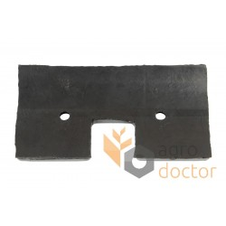 79x155 Rubber paddle for grain Elevator roller chain