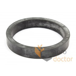 Rubber spring for Claas combine header, 80x95x15
