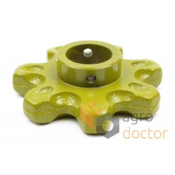 Elevator chain sprocket - 503027.1 Claas, T7
