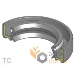 Oil seal 110x135x12 TC