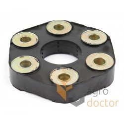 Flexible coupling rubber disc 60x160mm [TR]