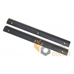 Set of rasp bars AZ10688, AZ10689 for John Deere combines