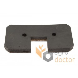 60x120 Rubber paddle for grain Elevator roller chain