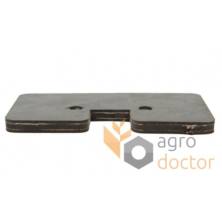 Rubber paddle Z20781 for grain Elevator roller chain
