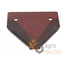 Grain head cutter bar knife section 206236M1 for Massey Ferguson combines