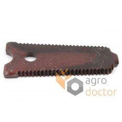 Grain head cutter bar knife section 206280M1 for Massey Ferguson combines