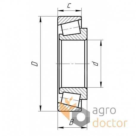 AH94661 for John Deere [AM] Tapered roller bearing