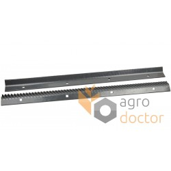 Set of rasp bars 772252, 772253 Claas