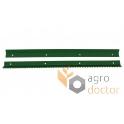 Set of rasp bars AZ10690, AZ10691 for John Deere combines