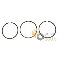 Piston ring kit RE66820 John Deere engine, (3 rings), [Bepco]