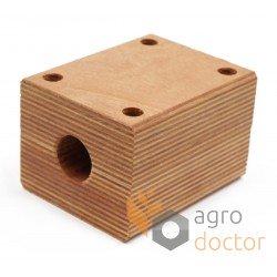 Wooden bearing 703827.0 - Claas harvester straw walker