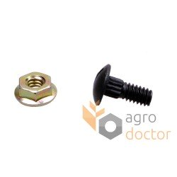 Bolt with nut M6x16 - 626407.0 Claas