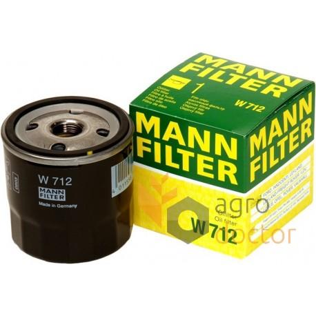 Filtro olio MANN FILTER W712//80