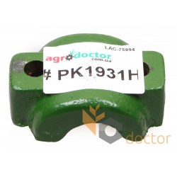 Rubber buffer housing - PK1931H John Deere