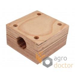 Wooden bearing for d28mm straw walker shaft - AZ31215, AZ10036 John Deere