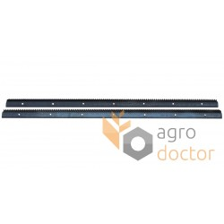 Set of rasp bars 0001775330, 0005557070, 678403 Claas