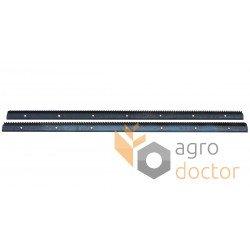 Set of rasp bars 0001775330, 0005557070, 678403 Claas