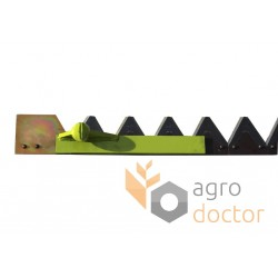Knife assembly 610646.1 Claas for 3600 mm header - 48.5 serrated blades