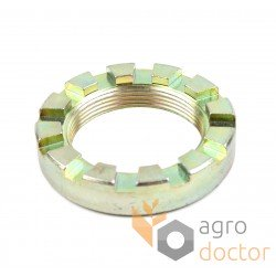 Castellated nut M40x1,5 - 0007522121 Claas