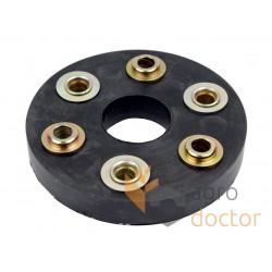 Flexible coupling rubber disc 40x130mm