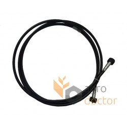 Thresher rotation cable 653025 Claas [Original]. Length - 2610 mm
