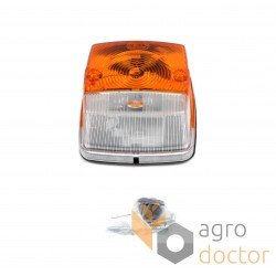 Overall headlight with turn signal [Hella]