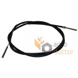 Cable de freno de mano 655198 para Claas. Longitud - 3140 mm