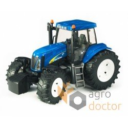 Toy-model of tractor New Holland T8040