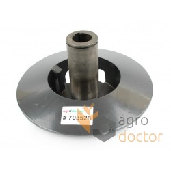 Fixed variator disc 703526 Claas with flange, d30mm