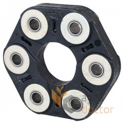 Flexible coupling rubber disc for Claas, New Holland