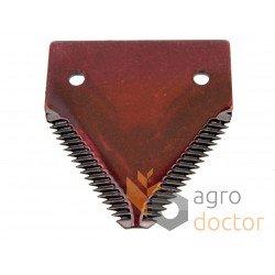 Grain head cutter bar knife section P49650, AZ32298 for John Deere combines