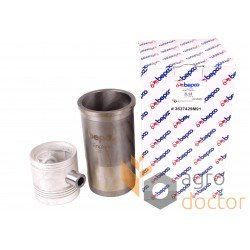 Piston set U5MK0036 Perkins , 5 rings, [Bepco]