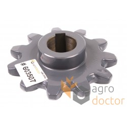 Feeder house sprocket 603507 Claas - T11