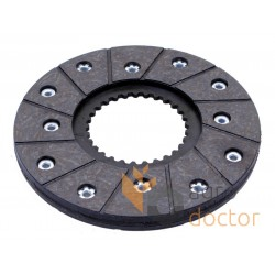 Brake disc 1018541M91 Massey Ferguson