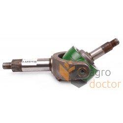 Wobble box yoke AE57735 John Deere - kit, with shaft