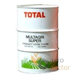 TOTAL MULTAGRI SUPER 10W30 208L. Oil