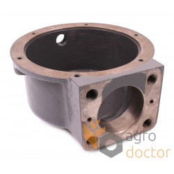 Knife drive gearbox housing