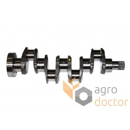 Crankshaft (1/6 holes, lip seal) 31315981 Massey Ferguson for engine Perkins [Genmot]