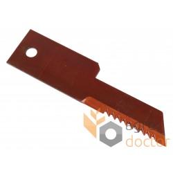 Straw chopper blade 198mm - 9516450 New Holland - [Rasspe]