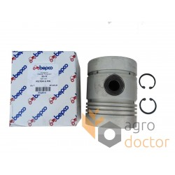 Piston with pin for engine - 738871M91 Massey Ferguson