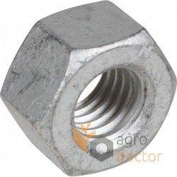 Zinc plated nut M10